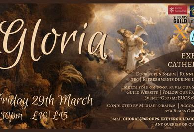 Gloria - Exeter University Choral Society + Budleigh Salterton Male Voice Choir