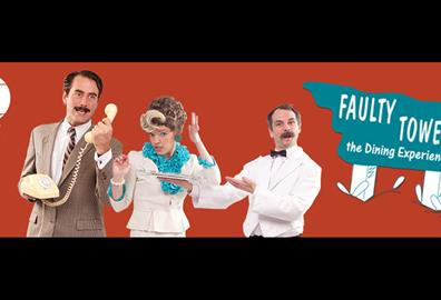Exeter Northcott - Faulty Towers The Dining Experience