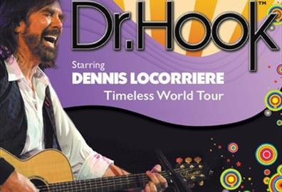 Exeter : Great Hall - Dr Hook starring Dennis Locorriere