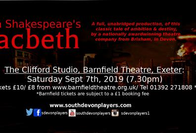 William Shakespeare's Macbeth - Exeter