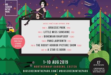 Big Screen in the Park 2019