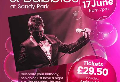 Exeter - Bublé and Bubbles at Sandy Park
