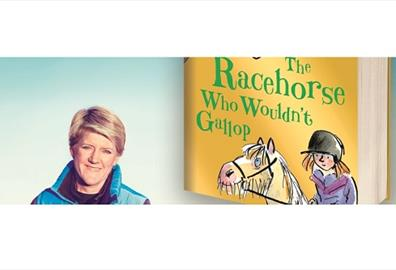Exeter Northcott - Clare Balding's Family Evening with The Racehorse Who Wouldn't Gallop