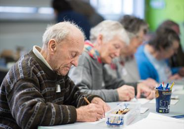 Dementia-Friendly Art Making in the Museum