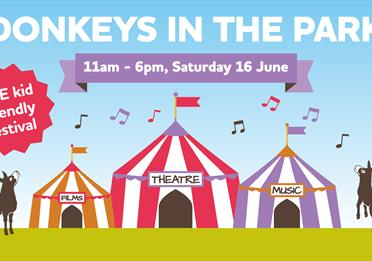 Donkeys in the Park - THE kid friendly festival!