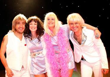Exeter Golf & Country Club - ABBA Party Night for The Royal Marines Charity