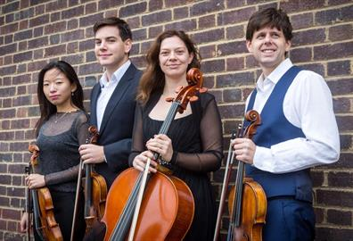 Powderham Castle - Music in the Castle: The Alke Quartet