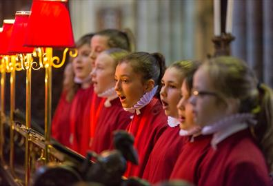 Exeter Cathedral Choristers