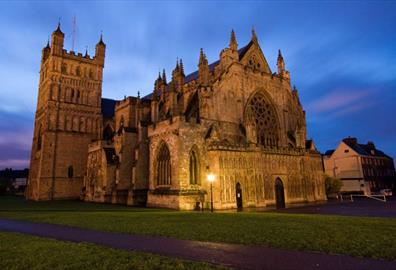 Exeter Cathedral - Home Front Remembered