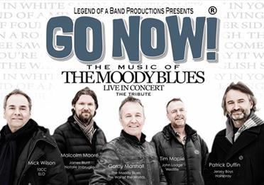 Exeter Corn Exchange - GO NOW! The Music of The Moody Blues