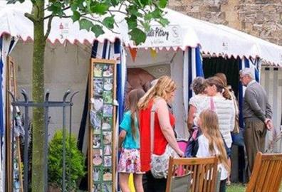 Exeter - Cathedral Green Craft Festival