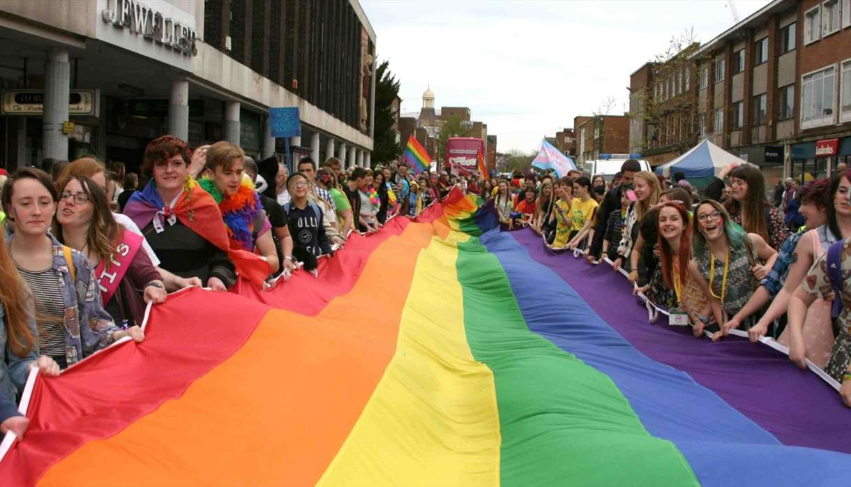 Exeter Pride 2018 : Celebrating 10 Years