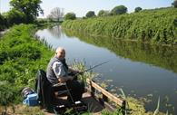Fishing at the Grand Western Canal Country Park