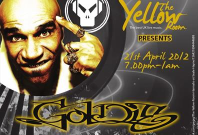 The Yellow Room Presents: Goldie