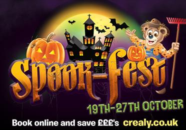 Spook-fest at Crealy