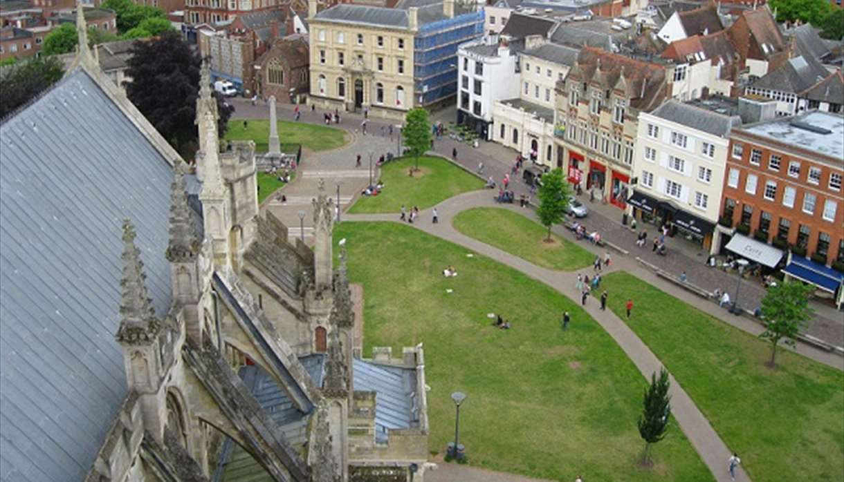 Exeter - Roof & Tower Tours at Exeter Cathedral