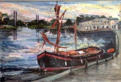 Exeter: The Quay - Exeter Art Society: Summer Art Exhibition