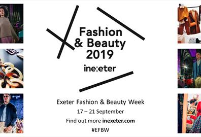 Fashion and Beauty Week InExeter instore events at John Lewis & Partners