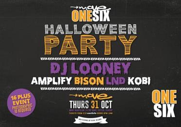 Move One Six Halloween Party