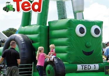 Powderham Castle - Tractor Ted Comes To Powderham!