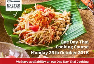 Exeter Cookery School Thai Cooking Course