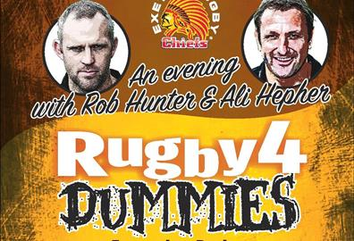 Sandy Park- Rugby For Dummies: Ali Hepher and Rob Hunter