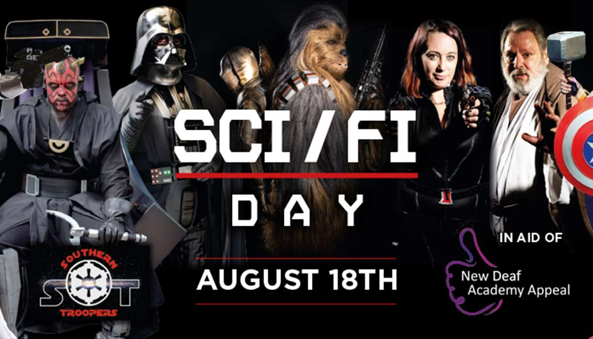Sci Fi Day at World of Country Life Exmouth Devon
