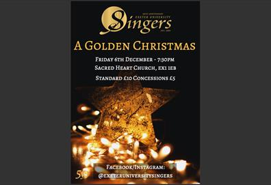 A Golden Christmas with Exeter University Singers
