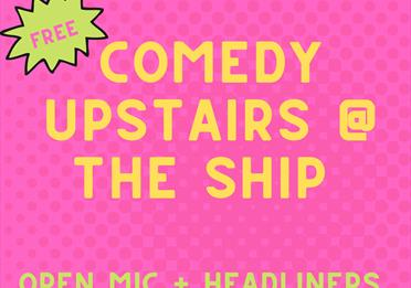 comedy at the ship