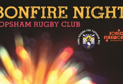 Topsham Rugby Club Bonfire Night