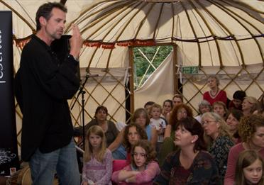 Tales from the tent: nomadic storytelling