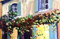 The Old Station House painting