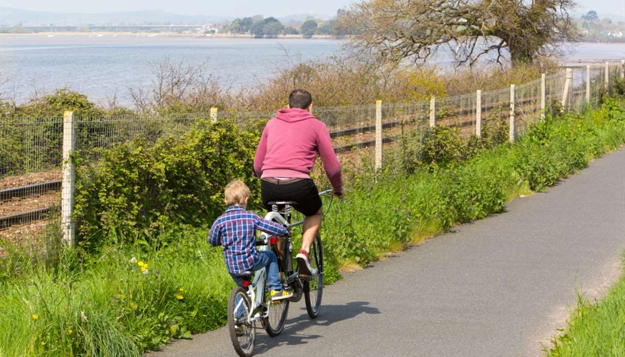 Cycling the Exe Estuary Trail
