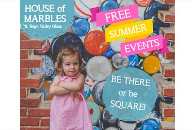 Free Summer Events at House of Marbles