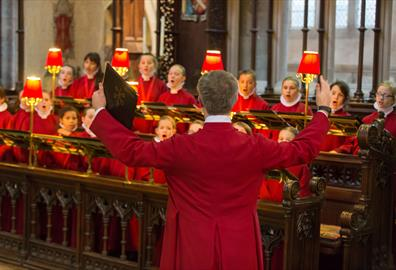 Tim Noon and Choristers