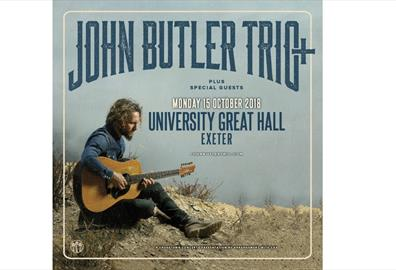 Exeter - Great Hall : John Butler Trio