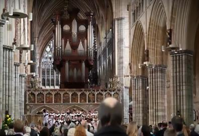 Exeter Cathedral - Choral Evensong with Exeter Symphony Orchestra