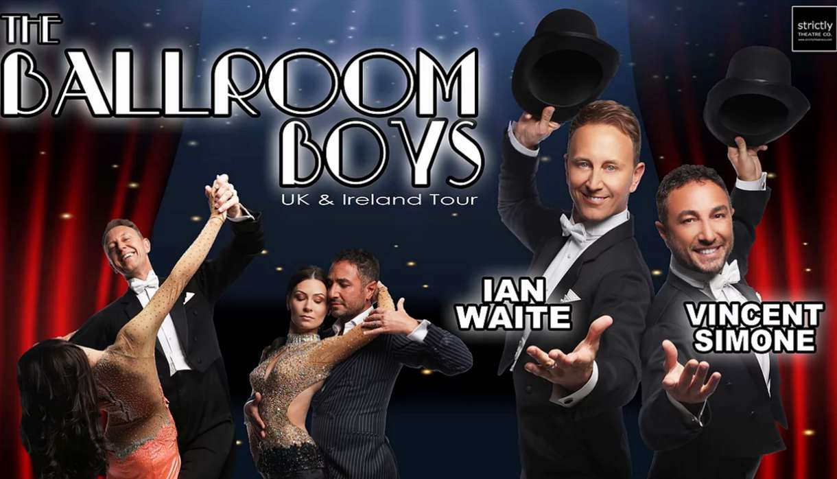 Exeter Northcott - THE BALLROOM BOYS - Ian Waite & Vincent Simone