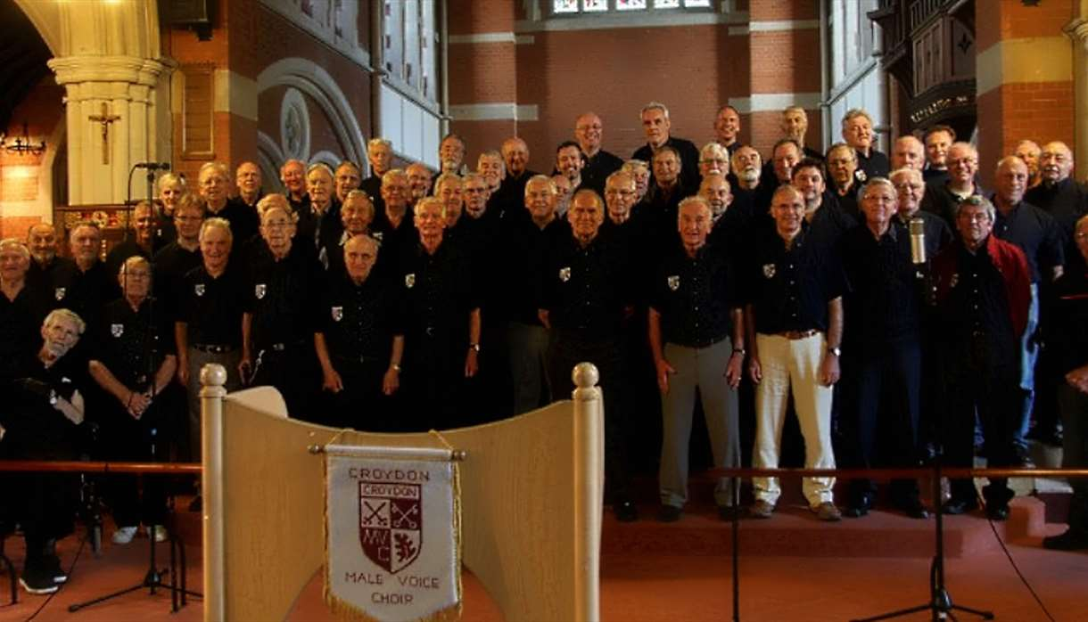 Exeter Cathedral - Croydon Male Voice Choir