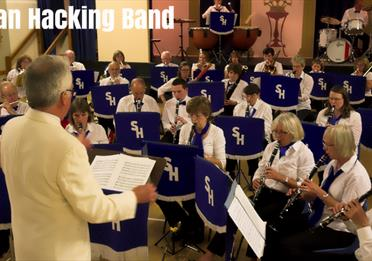 Exeter Barnfield - Stan Hacking Band Christmas Spectacular