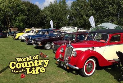Vintage Classic Vehicle Rally at World of Country Life Exmouth Devon