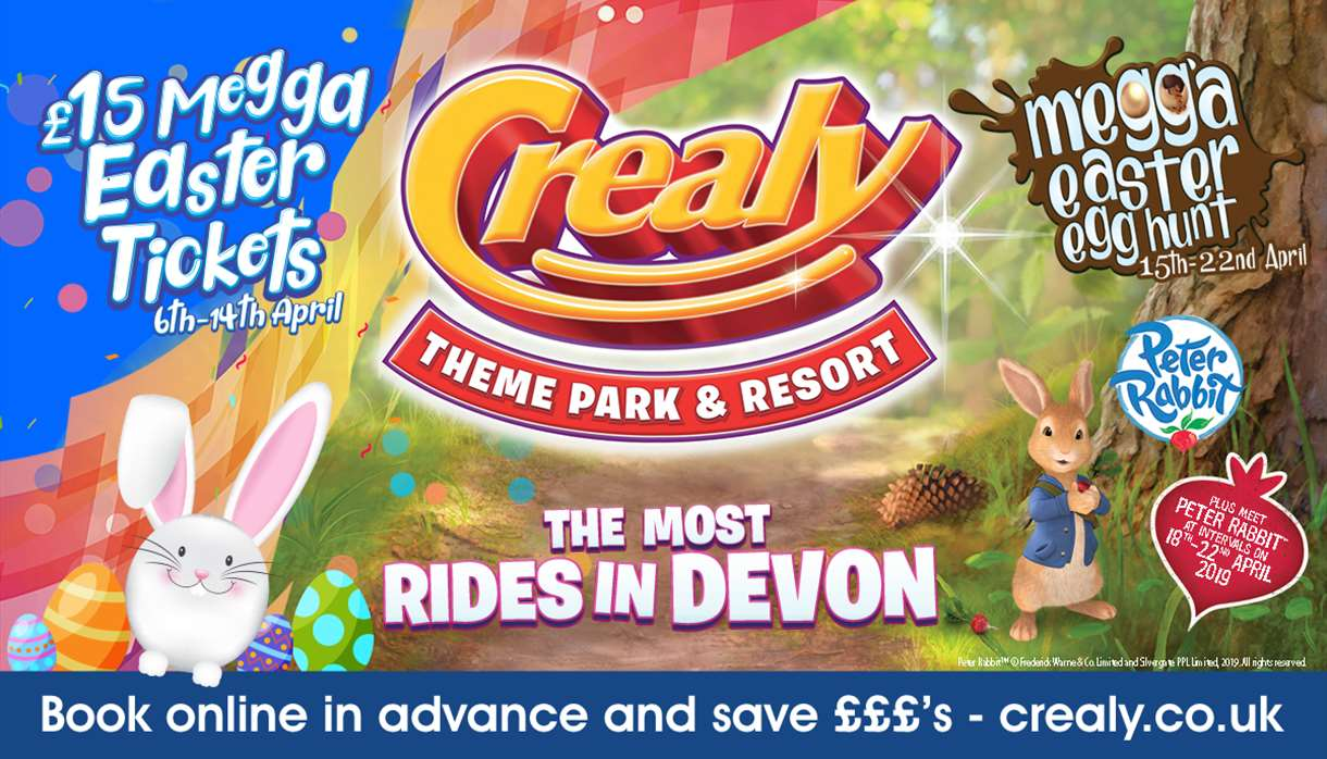 Megga Easter at Crealy Theme Park & Resort