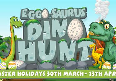 Eggo-Saurus Dino Hunt at Crealy