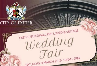 Exeter Guildhall Vintage and Pre-loved Wedding Fair