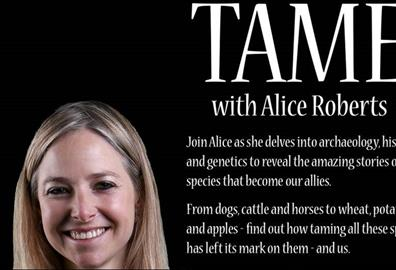 Exeter Corn Exchange - TAMED: with Professor Alice Roberts