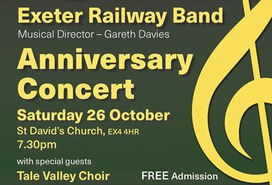 Exeter Railway Band Anniversary Concert