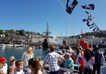 Sailing into the brixham pirate festival