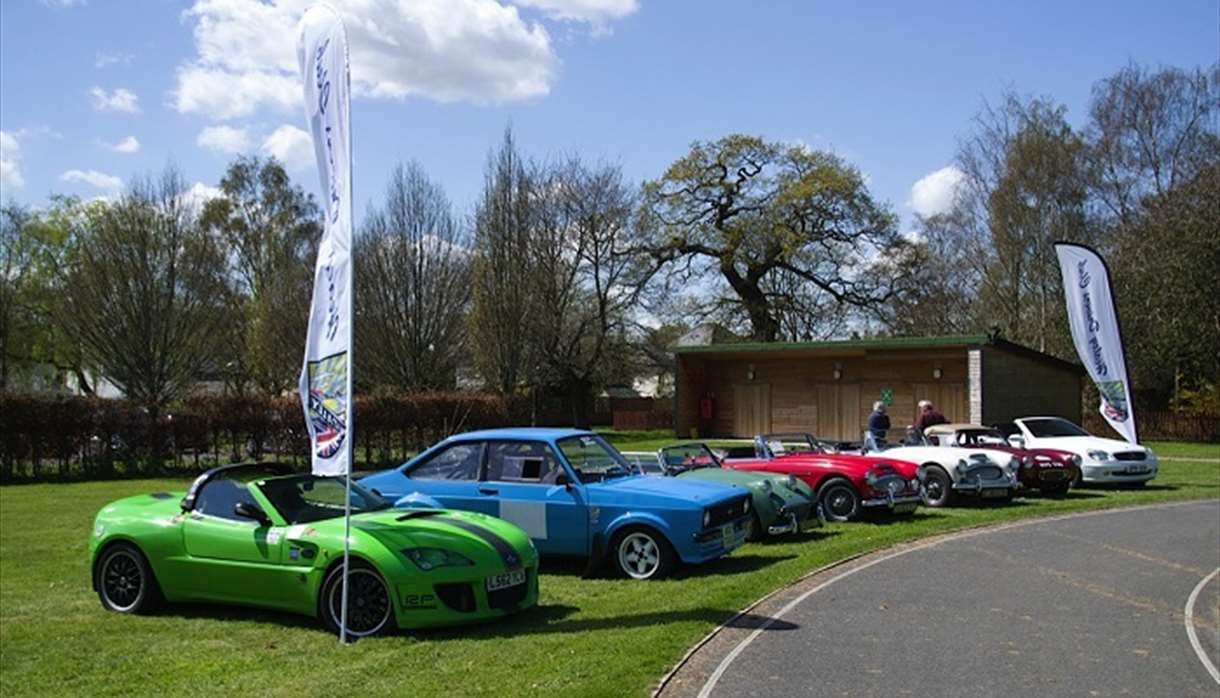 Classic Cars at the WESC Summer Fete