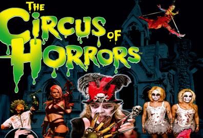 Exeter Corn Exchange -  Circus of Horrors Psycho Asylum