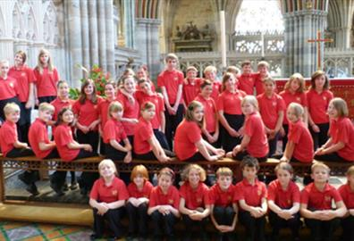 Exeter Phoenix - Earworms with Devon County Junior Choir
